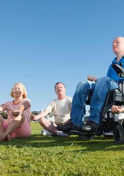 Entspannung für alle - Yoga für jedes Alter oder Handicap