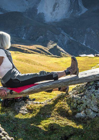Bergwandern im Alter - Sport und Meditation pur
