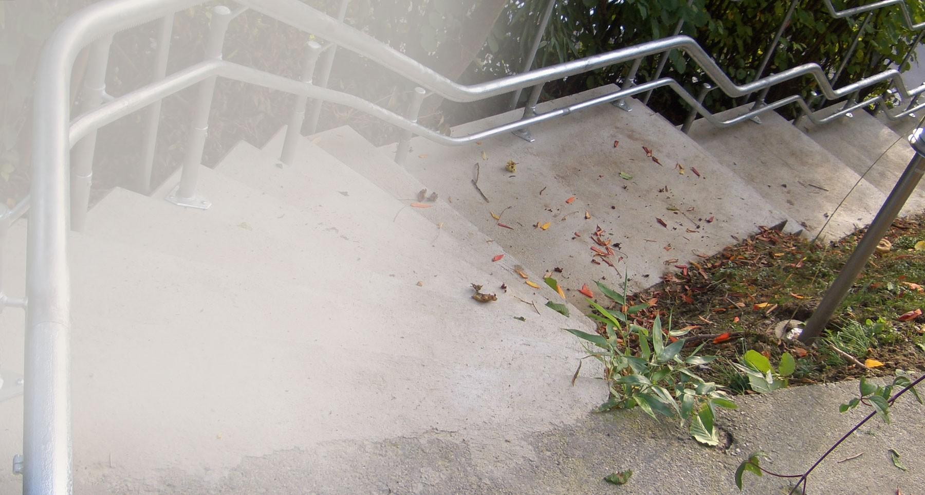 Treppenlift für draußen