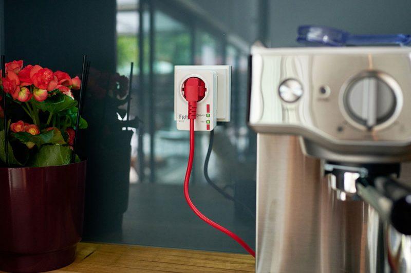 Smart-Home-Steckdose für das automatische Schalten