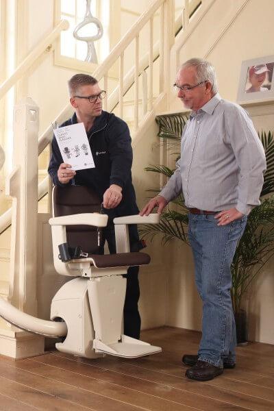 ein treppenlift gebraucht kaufen und dadurch bares geld sparen. Black Bedroom Furniture Sets. Home Design Ideas