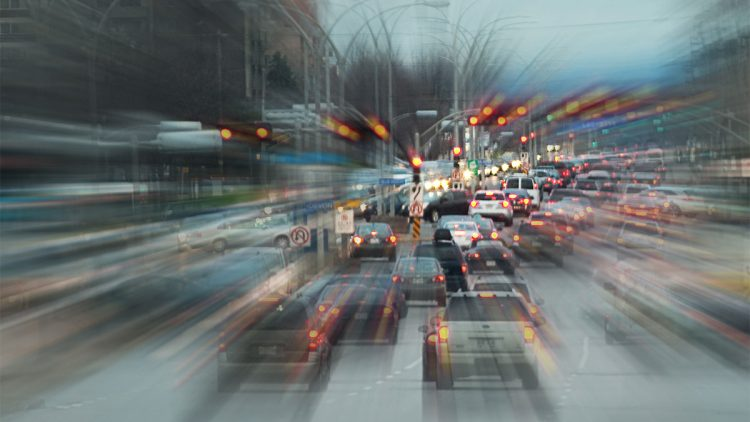 Krank durch Lärm - Autoverkehr