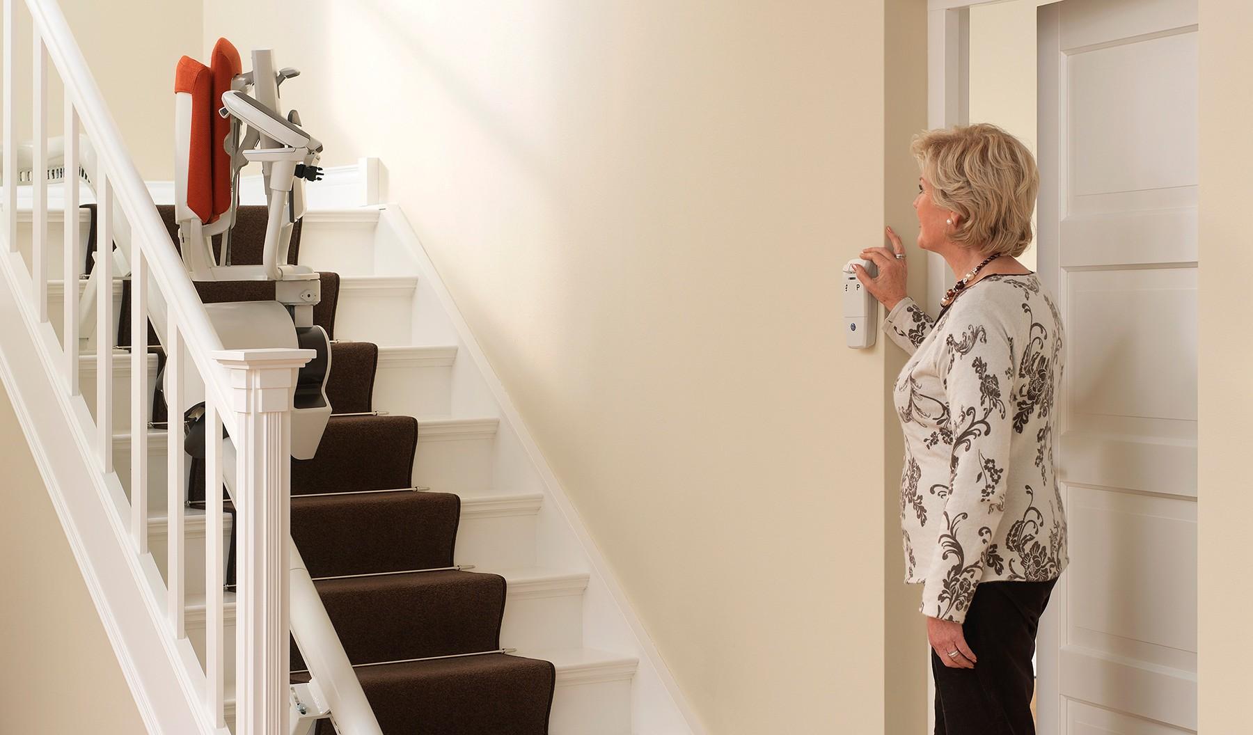 Lifte für kurvige Treppen