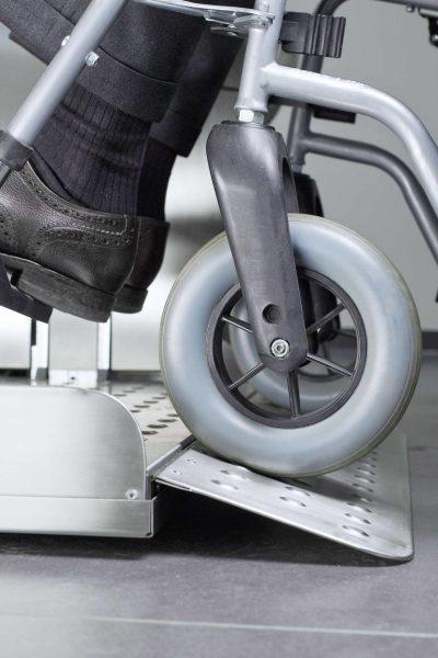 Rollstuhl-Plattformlift Auffahrrampe