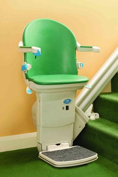 Schmaler Treppenlift für gerade Treppen, SANIMED 20