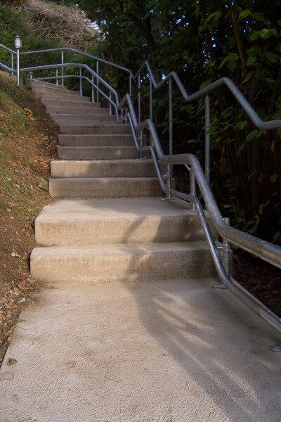 Treppenlift-Schiene außen