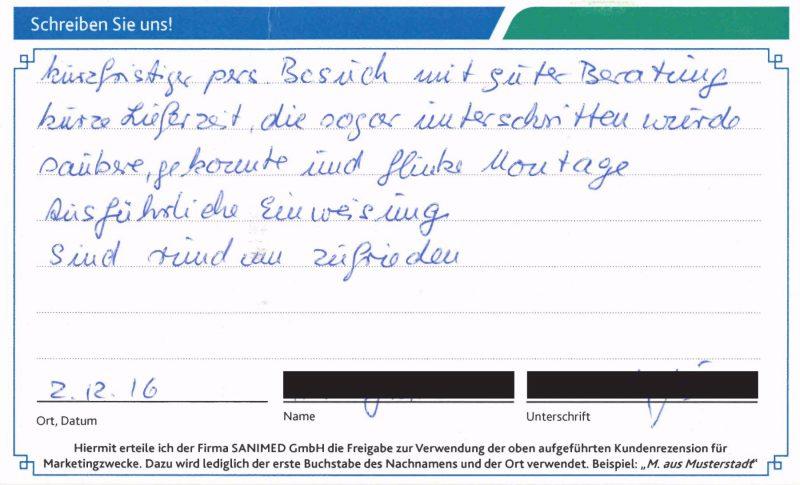 Kundenstimme von G. aus Dortmund