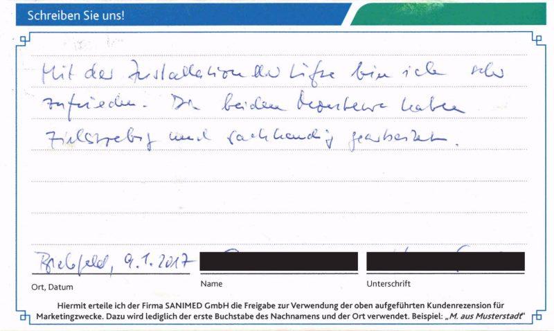 Kundenstimme von G. aus Bielefeld