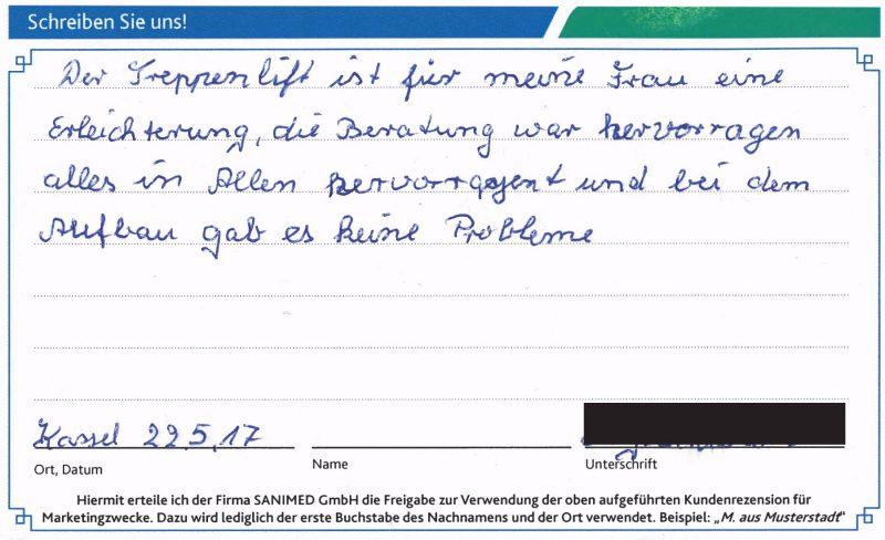 Kundenstimme von S. aus aus Kassel