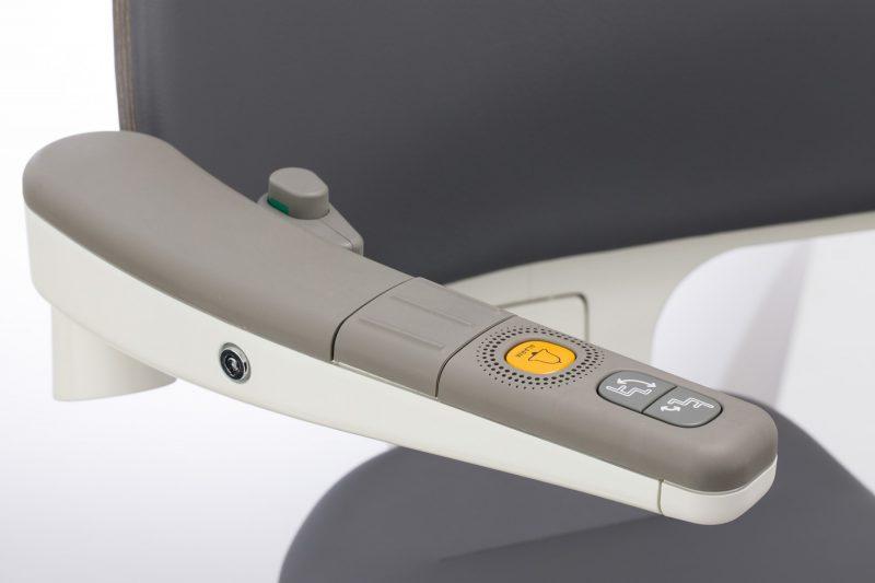 Schlüsselschalter am SANIMED 70 EXTRA Treppenlift für kurvige Treppen