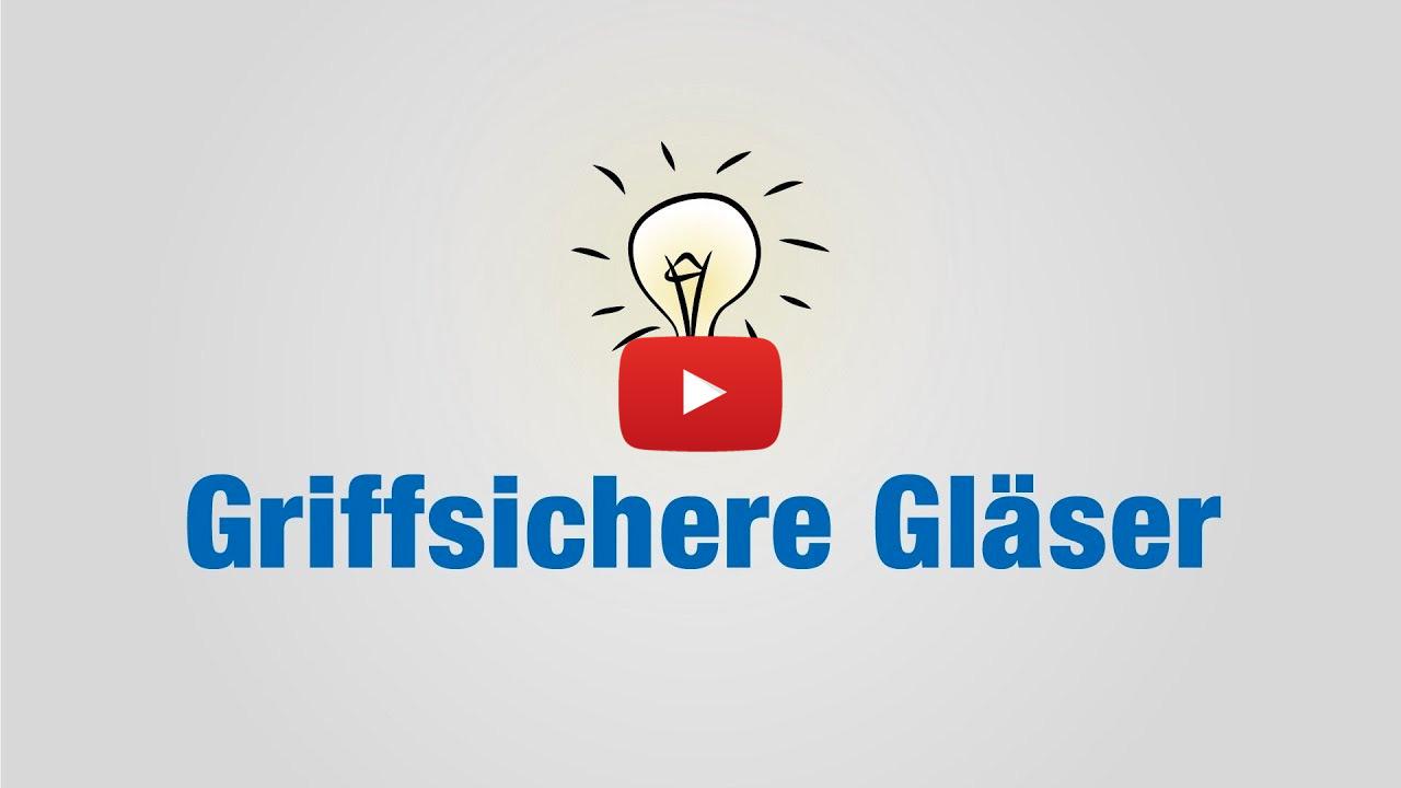 Life Hack: Gläser sicher halten